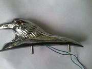 Honda Goldwing орел на переднее крыло балотник